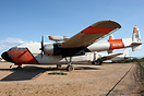 Many ex USAF C-119s were converted for use as aerial fire fighters dur...