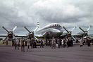 BOAC Bristol Britannia 101 G-ALBO the protoype Britannia displayed at ...