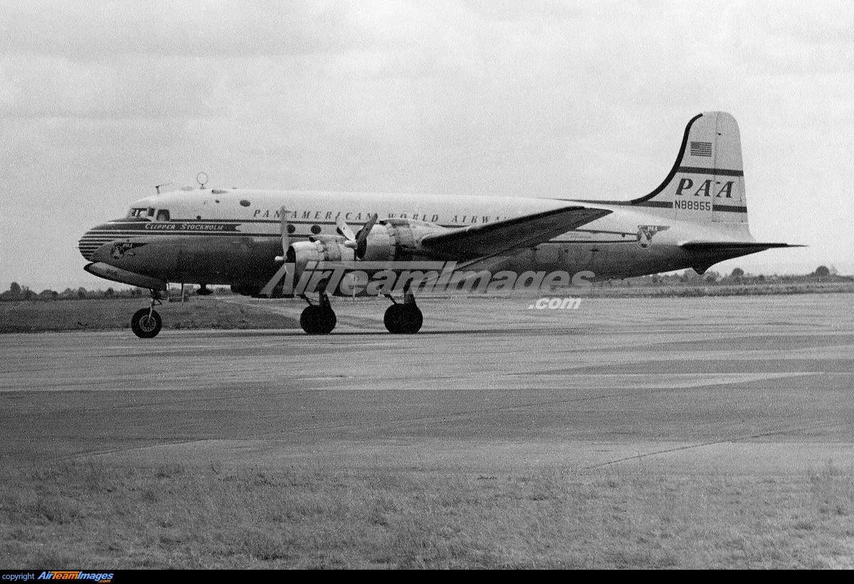 Douglas DC-4 - Large Preview - AirTeamImages.com