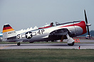 "44-90368 Republic P-47D Thunderbolt named ""Worry Bird II"" at the 1993 ..."