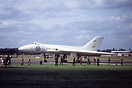 The prototype Avro 698 Vulcan VX770 at the 1954 SBAC show Farnborough