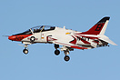 This US Navy Boeing T-45C Goshawk has been re-painted as part of the U...