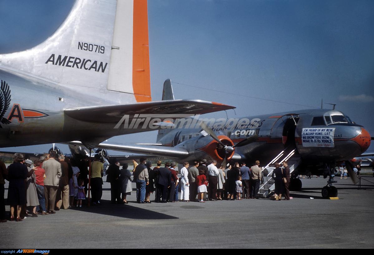 Douglas DC-6 & Convair CV-240