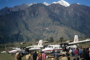 Two Royal Nepal Airlines Twin Otter aircraft 9N-ABA and 9N-ABB at the ...