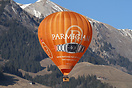 Parmigiani sponsor the International Balloon Festival in Chateau D'Oex