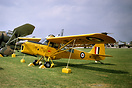 Auster C-4 Auster T7 Antarctic WE600 at The Royal Review at Abingdon