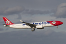 MSN1193. The first A330-300 for Edelweiss airline.
