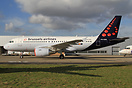 Another addition to the Brussels Airlines fleet is this Airbus A319 ex...