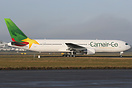 Camair Co Boeing 767-300, TJ-CAC, has received a new colour scheme at ...