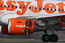 Close up of one of the CFM56 engines as this EasyJet Airbus A319 lands...