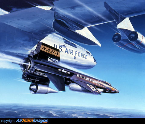 X 15 Cockpit North American X-15 rocket-powered aircraft/spaceplane set speed and ...