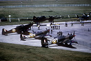 Overview of some of the aircraft being displayed at the RAF's 50th Ann...