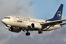 This Boeing 737-700 YR-BGF is TAROM's first aircraft wearing the SkyTe...