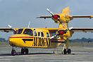 Aurigny Air Services Britten-Norman Trislander G-BDTN at rest between ...