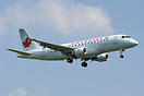 Brand new type in operation for Air Canada. On its second day of reven...