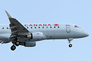 Nose closeup of Air Canada's newest fleet member