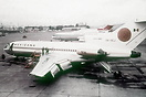 This Mexicana Boeing 727-64 XA-SEJ crashed NE of Mexico City-Juarez In...