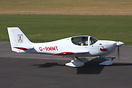 Europa XS G-RMMT seen here about to depart Breighton