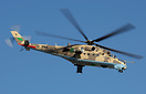The export version of the Mi24V is the Mi-35 and this particular examp...