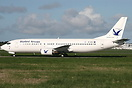 Ex Air One Boeing 737-400, EI-DOV, is due for delivery to Bluebird Air...