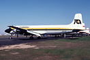 Douglas DC-6A N615SE at Detroit-Willow Run - hub for freight operators...