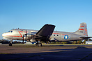 Douglas Dc-4 painted in USAAF colours as 44-42914 for a movie about th...