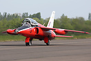 This Gnat Display Team Hawker Siddeley Gnat T1 G-RORI (XR538) returns ...