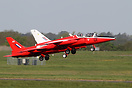 Gnat Display Team aircraft G-RORI and G-TIMM depart for their first tr...