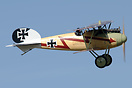 Kermit Weeks in the Albatros D.Va