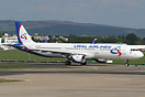 Airbus A321-200, VQ-BKG, departed Shannon on delivery to Ural Airlines...