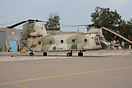 CH-47C LC-008 was built in Italy by Elicotteri Meridionali and is seen...