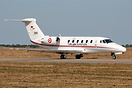 Rare visitor to Coningsby on 4.5.11 is Turkish Air Force Cessna 650 Ci...