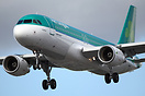 One of the latest new Airbus A320s to join the Aer Lingus fleet, this ...