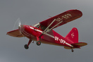 This Stinson HW-75/105 Voyager is one of Denmarks oldest flying aircra...
