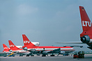 LTU Lockheed L-1011 Tristar D-AERU together with three sisterships in ...