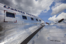 The well-polished aluminium surface of Dakota Norways DC-3 hides app. ...