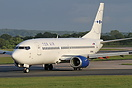 Tor Air have leased this B737-300 to operate charter flights to Medite...