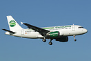 Germania Airbus A319 D-ASTB is the first to be delivered new from Airb...