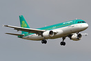 Latest addition to the Aer Lingus fleet is this Airbus A320-200 EI-DVN...