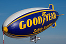 Goodyear American Blimp A-60+ airship G-TLEL caught fire and crashed o...