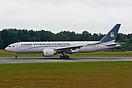 Brand new Boeing 777-2FB/LR 3C-LLS just arrived from Seattle for the V...