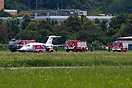 A Piaggio Avanti 180 made an emergency landing in Innsbruck after the ...