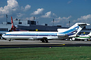 Basic Aerolineas Argentinas colours. Wrong spelling of titles on fusel...