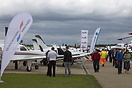 Despite a cold wind large numbers attended the final day of AeroExpo U...