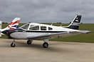 This Airways Flying Club Piper PA-28 Warrior II G-SIXT is specially pa...