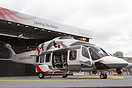 The new AgustaWestland AW-189 announced at the Paris Airshow
