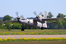 First modernized Indian Air Force Antonov An-32 departing back home to...