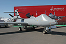 Telemos mock-up of the medium altitude and long endurance (MALE) UAV b...