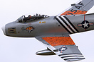 North American F-86A Sabre displaying at the 2011 Military Pageant in ...
