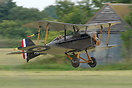 The Royal Aircraft Factory S.E.5 was a British single seat biplane fig...